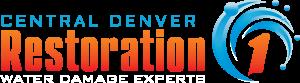 Restoration 1 of Central Denver - Logo - White